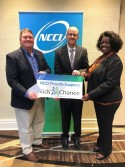 NCCI Presents LBF Kids' Chance with a Check